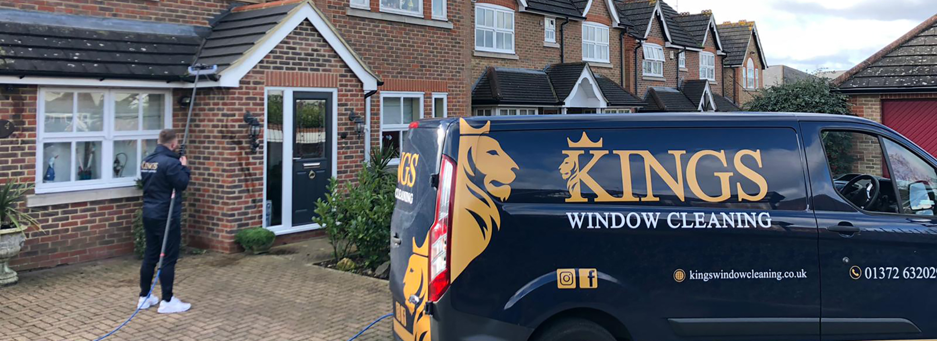 window cleaning company in surrey